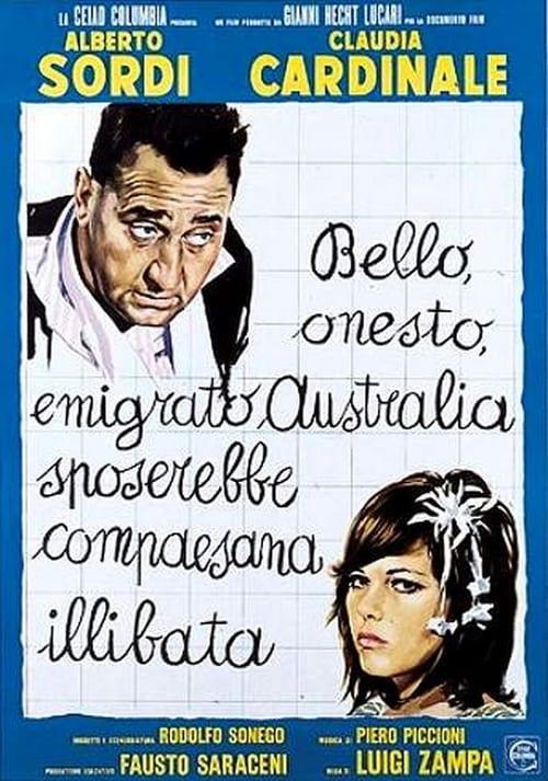 Bello, onesto, emigrato Australia sposerebbe compaesana illibata Streaming VF