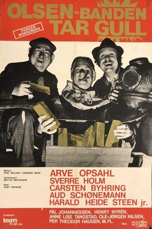 Olsenbanden tar gull (1972)