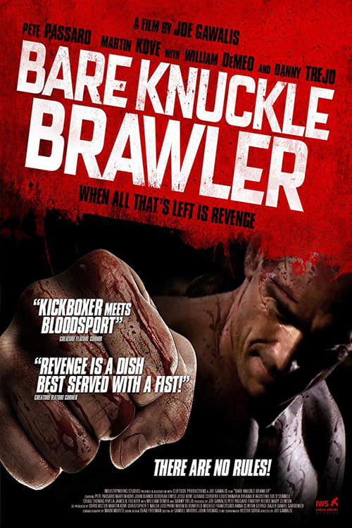 The poster of Bare Knuckle Brawler