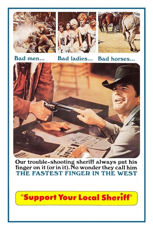 Watch Support Your Local Sheriff (1969) Best Quality Movie