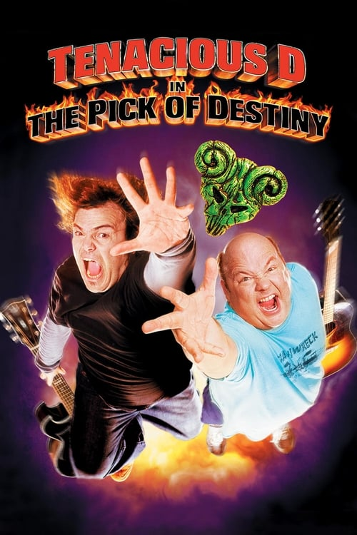 Tenacious D in the Pick of Destiny - Poster