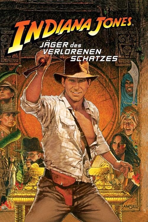 Jäger des verlorenen Schatzes - Poster