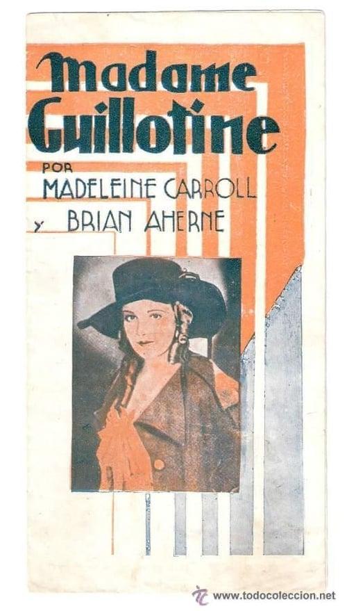 Película Madame Guillotine Gratis