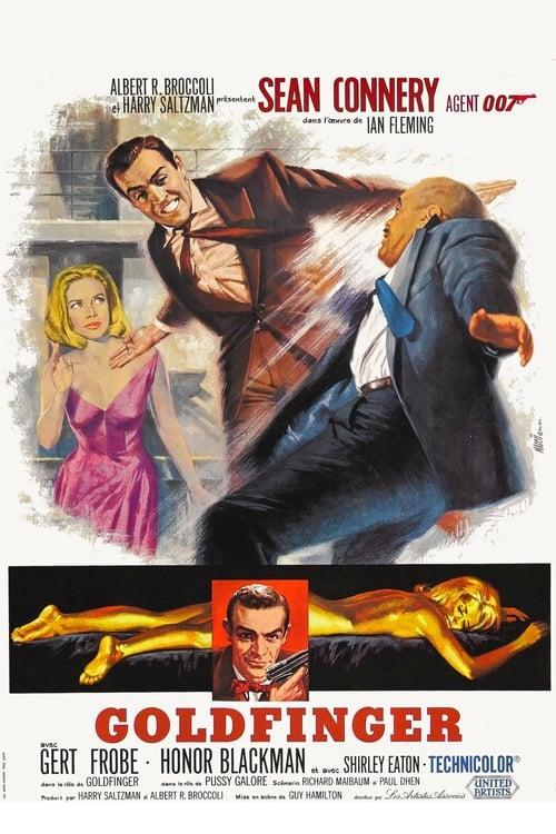 [HD] Goldfinger (1964) film vf
