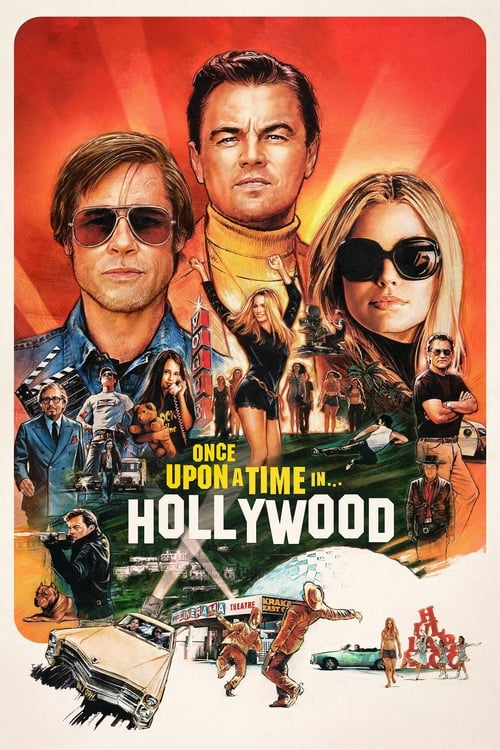Poster. Once Upon a Time in Hollywood (2019)