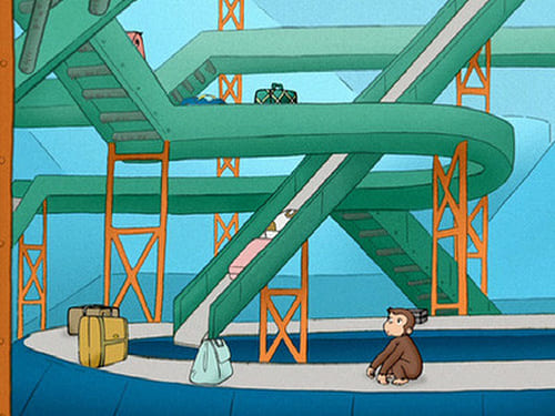 Curious George: Season 1 – Episod Curious George Takes a Vacation