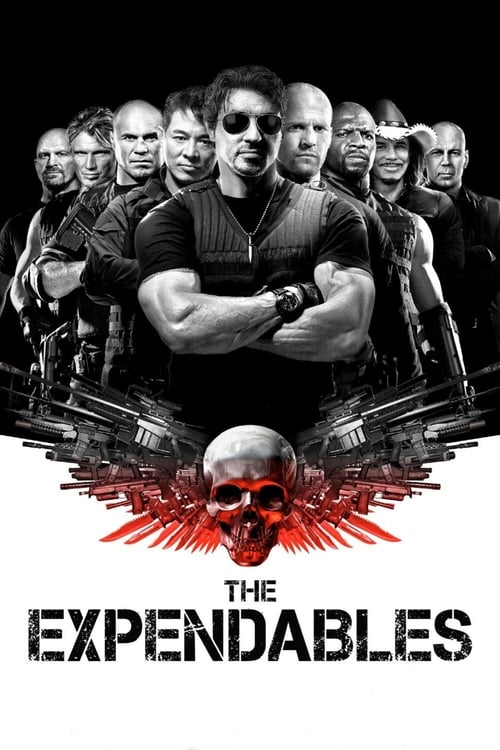 Poster for the movie, 'The Expendables'