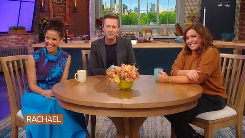 Rachael Ray - Season 14 - Episode 40: Edward Norton and His Co-Star, Gugu Mbatha-Raw, Are at the Kitchen Table