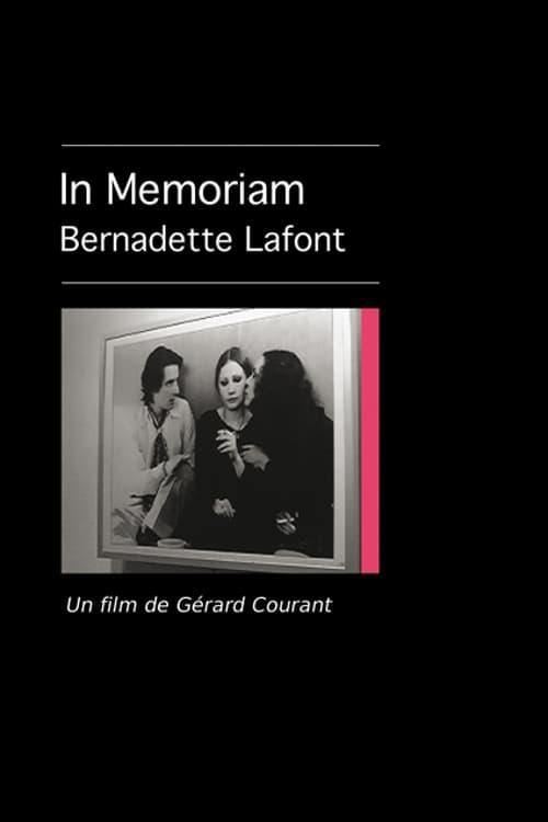 Mira La Película In Memoriam Bernadette Lafont En Buena Calidad Gratis