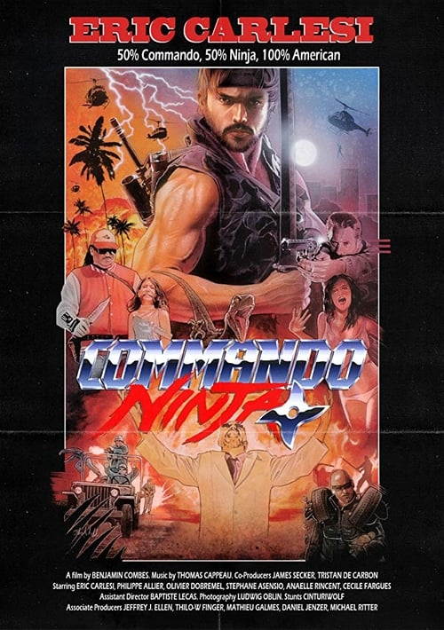 Voir ஜ Commando Ninja Film en Streaming Entier