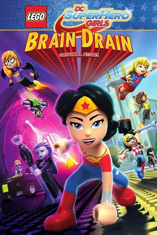 شاهد الفيلم LEGO DC Super Hero Girls: Brain Drain بجودة HD 1080p عالية الجودة