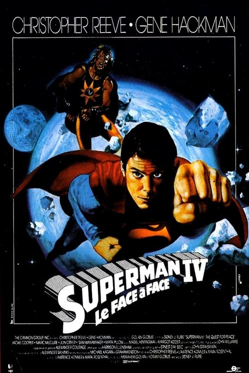 Regarder Superman IV : Le Face‐à‐face (1987) streaming openload