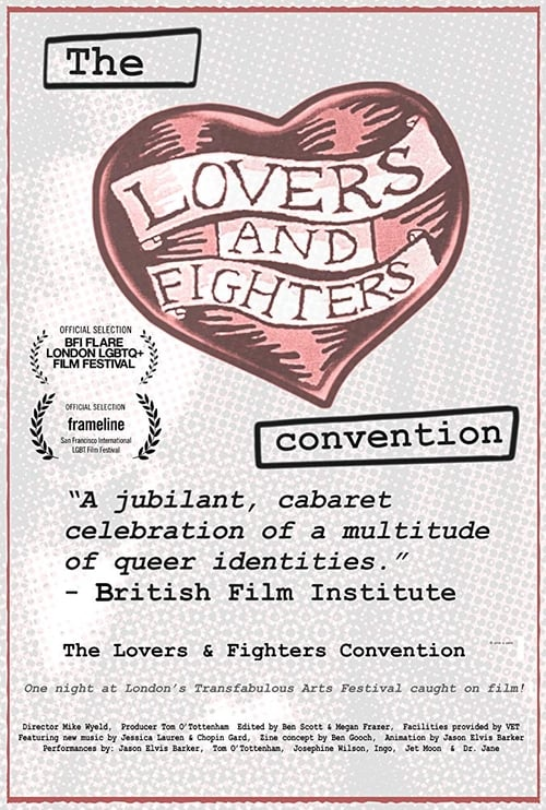 The Lovers and Fighters Convention poster