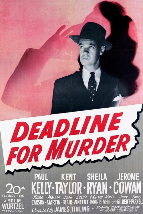 Ver Deadline for Murder Gratis