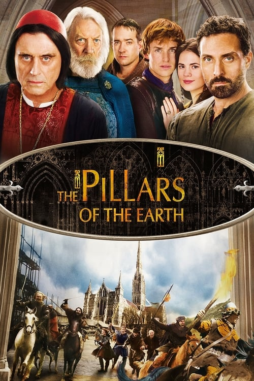 The poster of The Pillars of the Earth