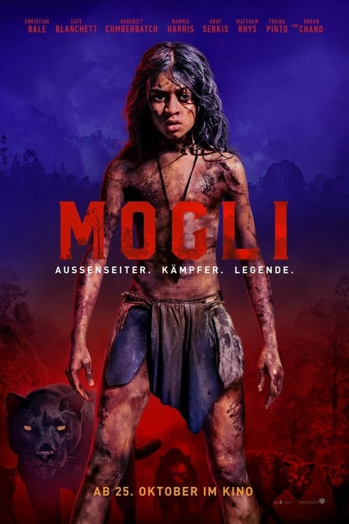 Poster von Mogli: Legende des Dschungels