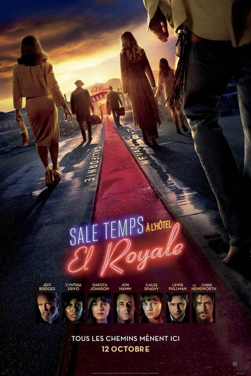 Sale temps à l'hôtel El Royale Film en Streaming VF