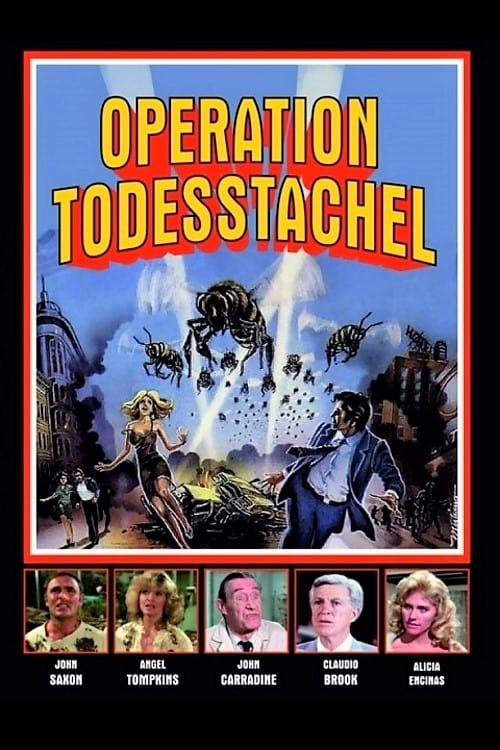 Poster von Operation Todesstachel