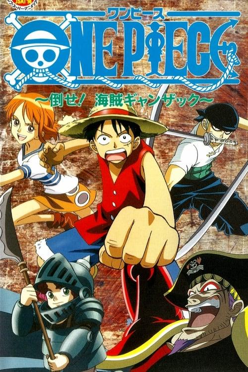 Película One Piece: Derrotar al Pirata Ganzak! Con Subtítulos En Español