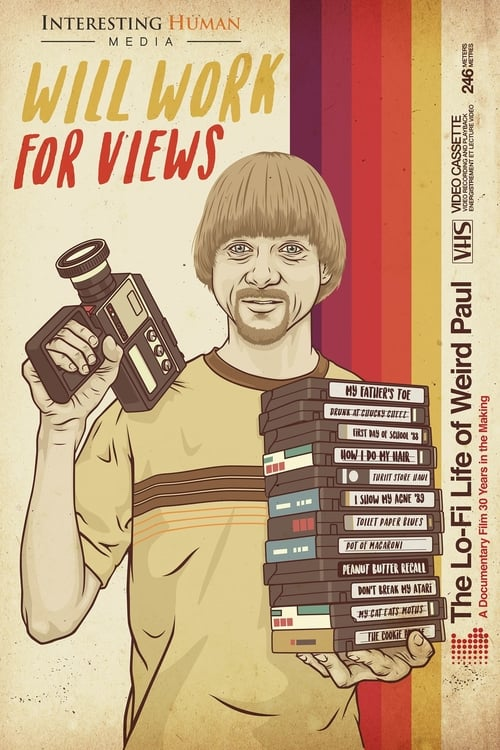 Watch Will Work for Views: The Lo-Fi Life of Weird Paul Online Tvmuse