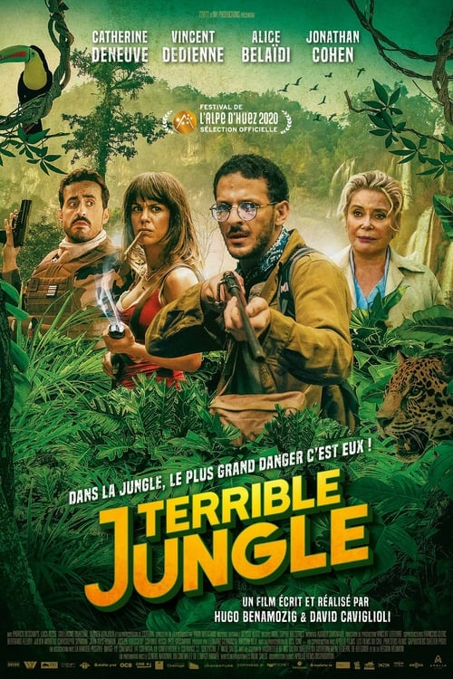 Terrible jungle poster