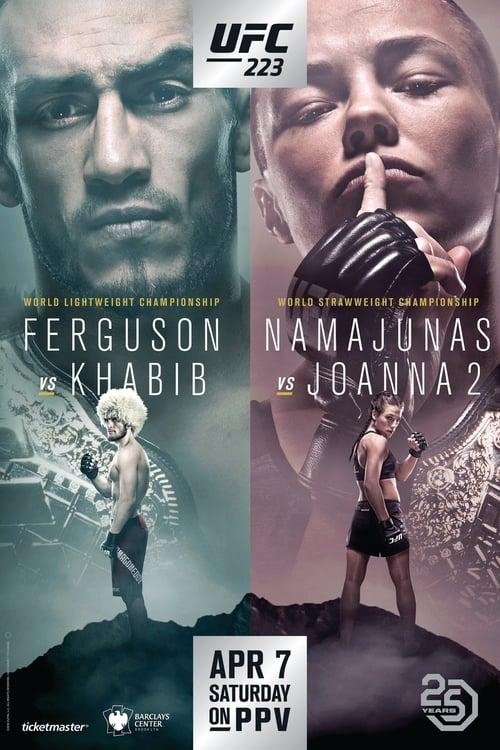 UFC 223: Khabib vs. Iaquinta (2018) Poster