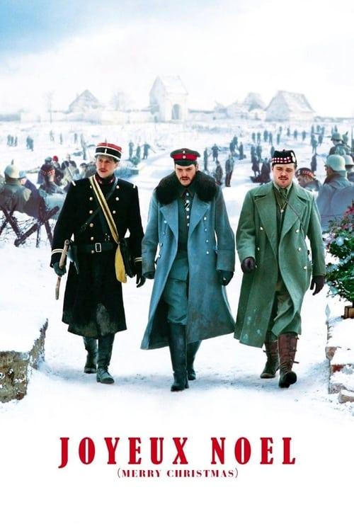 Grootschalige poster van Joyeux Noël