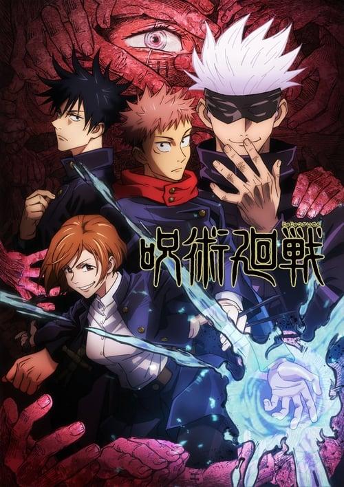 Jujutsu Kaisen 1ª Temporada 2021 - HDTV 1080p Completo Dublado + Legendado