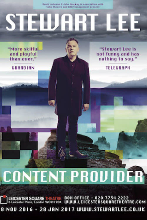 I recommend to watch Stewart Lee: Content Provider