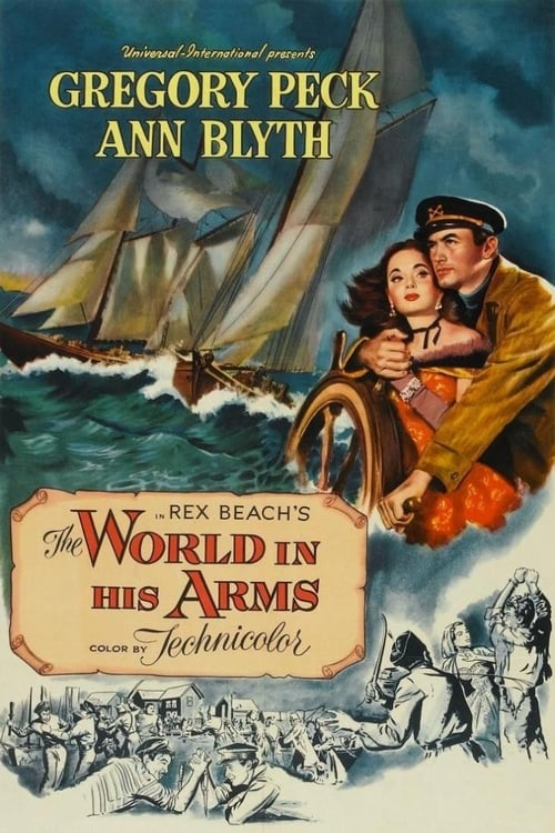 The World in His Arms poster