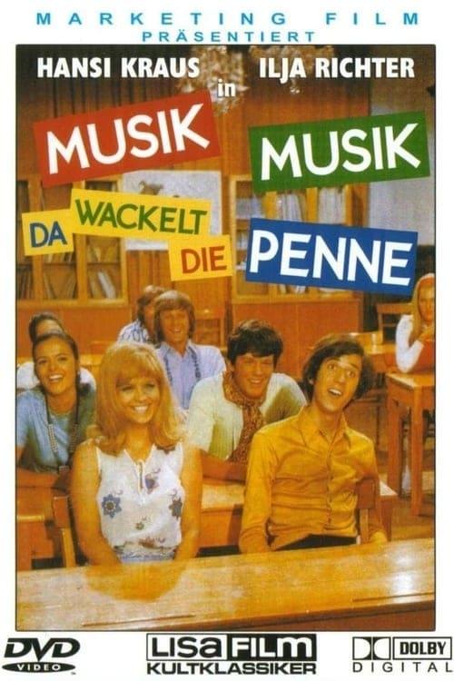 Poster von Musik, Musik - da wackelt die Penne