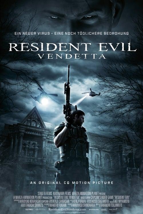 Poster von Resident Evil: Vendetta