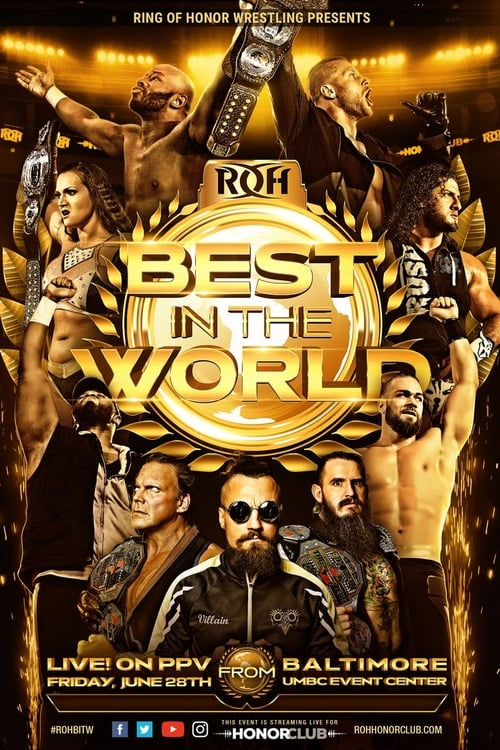 Filme ROH Best in the World 2019 Completo