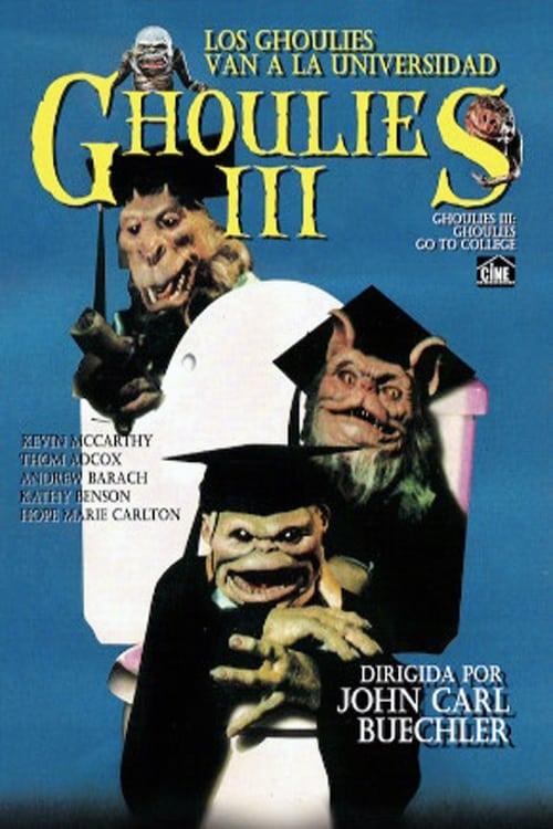 Mira La Película Ghoulies III: Los Ghoulies van a la universidad Gratis En Español