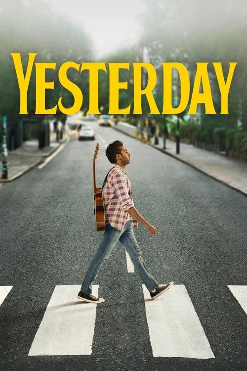 Poster. Yesterday (2019)