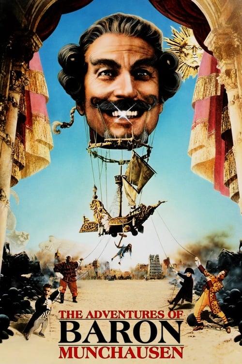 The Adventures of Baron Munchausen Poster