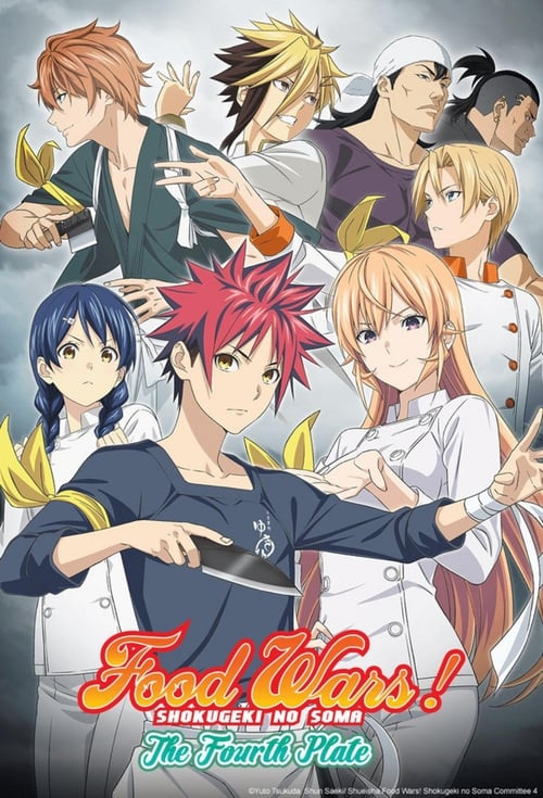 Food Wars! Shokugeki no Soma: The Fourth Plate