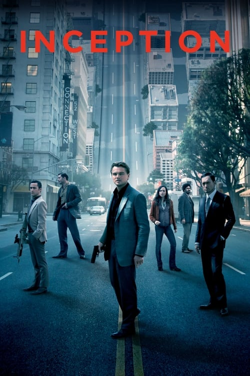 Poster for the movie, 'Inception'