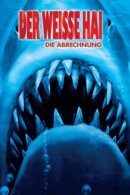Poster von Der weiße Hai IV - Die Abrechnung