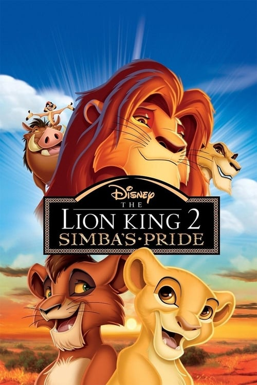 Largescale poster for The Lion King II: Simba's Pride