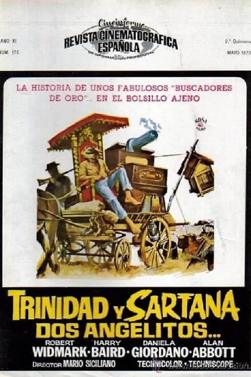 Película Trinidad y Sartana, dos angelitos Gratis