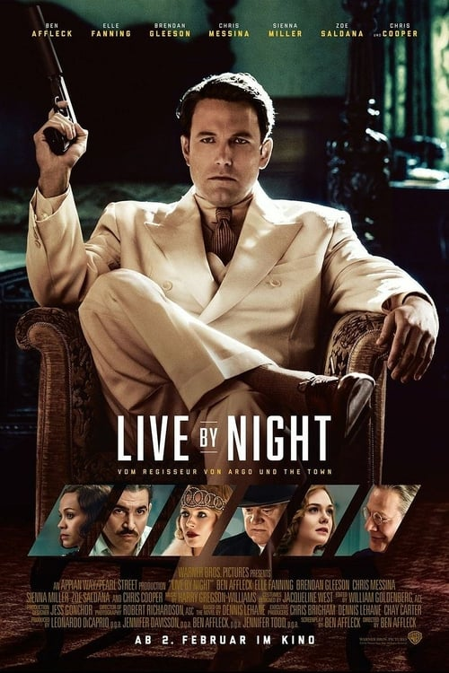 Live by Night - Poster