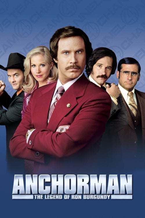 Watch Anchorman: The Legend of Ron Burgundy (2004) Movie Free Online