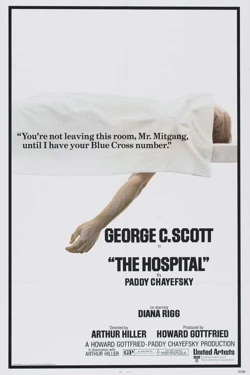 Streaming The Hospital (1971) Movie Free Online