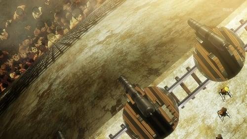 Attack on Titan: Staffel 1 – Episod Der Verbleib des linken Arms - Schlacht um den Bezirk Trost, Teil 5