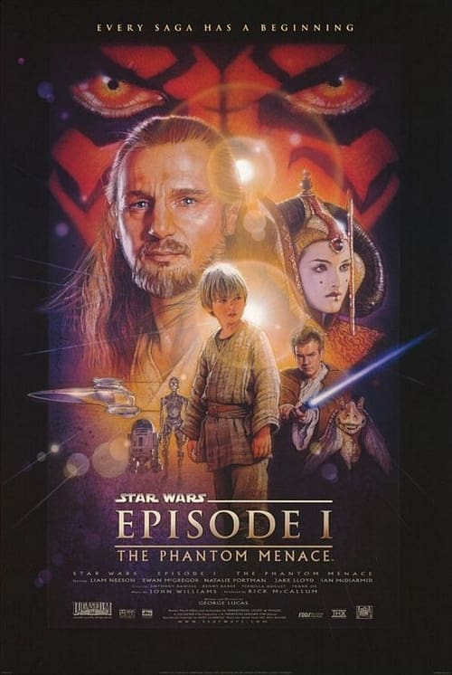 Largescale poster for Red Letter Media review of the Phantom Menace