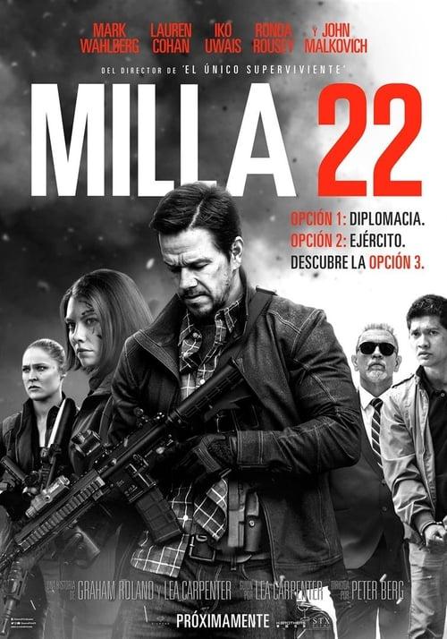 Milla 22 [Castellano] [Latino] [Vose] [dvdrip] [rhdtv] [hd720] [hd1080] [dvdscr]