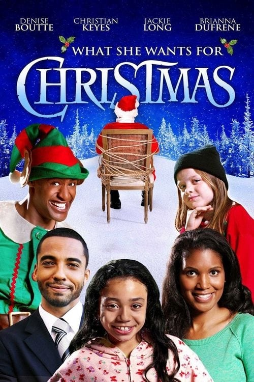 What She Wants for Christmas (2012) Poster