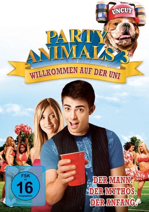 Party Animals 3 - Willkommen auf der Uni - Poster