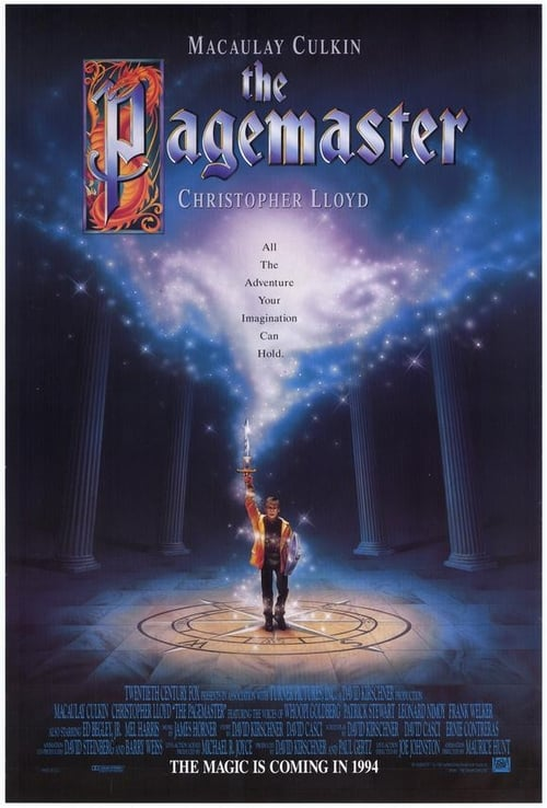 Streaming The Pagemaster (1994) Full Movie